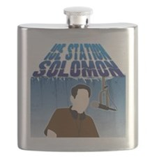 IceStationSolomonWhite Flask