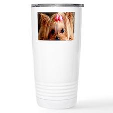 Yorkie L print Travel Mug