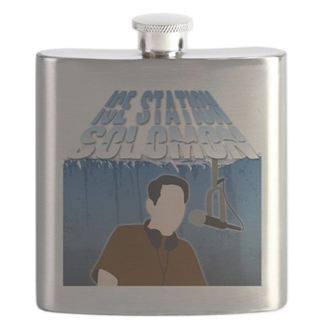 IceStationSolomonBlack Flask
