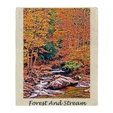 Autumn, Fall Classical Old Poetry Gr Throw Blanket