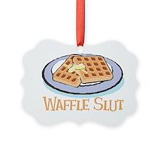 Waffle Slut Ornament