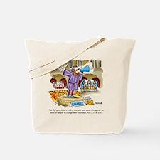 Jesus_TimeChange_COLOR Tote Bag