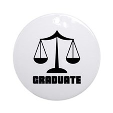 Law School Grad Class 2012 Ornament (Round)
