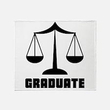 Law School Grad Class 2012 Throw Blanket