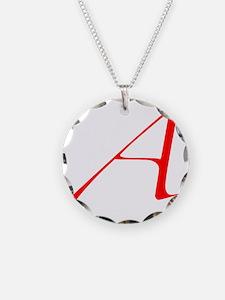 Scarlet Letter - trans Necklace