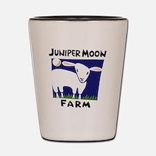 Junier Moon Farm Logo - color no url Shot Glass