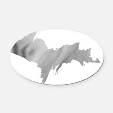 Ice_001.gif Oval Car Magnet
