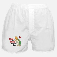 Tortoise and Hare Boxer Shorts