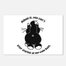 Admit it Cat Butt Postcards (Package of 8)
