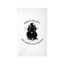 Admit it Cat Butt 3'x5' Area Rug