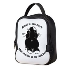 Admit it Cat Butt Neoprene Lunch Bag