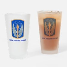 SSI - 166th Aviation Brigade with t Drinking Glass