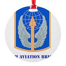 SSI - 166th Aviation Brigade with t Ornament