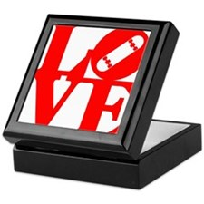 love_1_rojo Keepsake Box