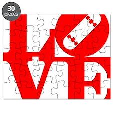 love_1_rojo Puzzle