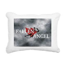 Fallen Angel 12x9 Rectangular Canvas Pillow