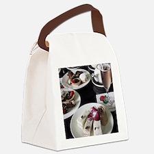 teatime Canvas Lunch Bag