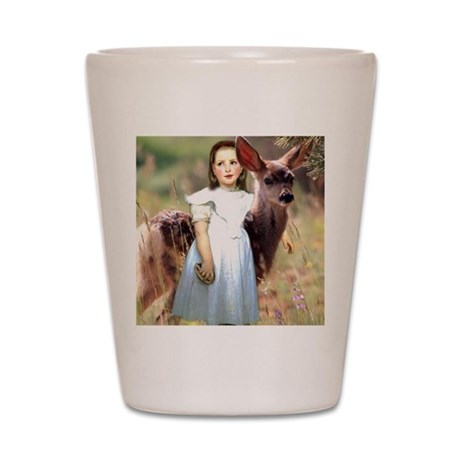 Alice The Fawn Shot Glass