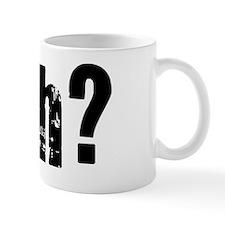 Huh Black Mug