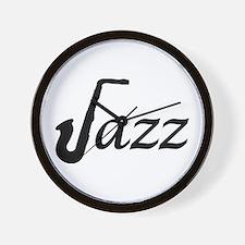 Jazz Saxophone Wall Clock