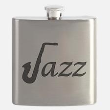 Jazz Saxophone Flask