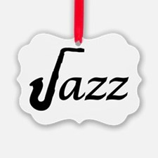 Jazz Saxophone Ornament