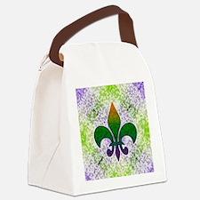 Fleur Speckled Canvas Lunch Bag
