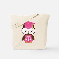 Graduate Law Student Owl Tote Bag