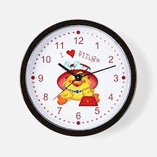 Bingo Time Wall Clock
