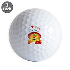 Bingo Time Golf Ball