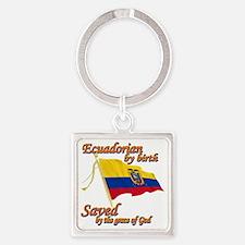 ecuadornew Square Keychain