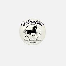 Volunteer logo Mini Button
