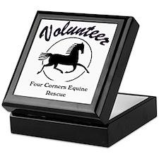 Volunteer logo Keepsake Box
