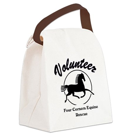 Volunteer logo Canvas Lunch Bag