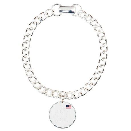 WhtHogsBackMtGif.gif Charm Bracelet, One Charm