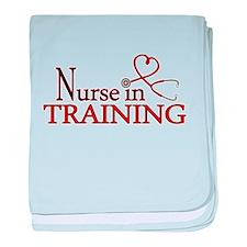 Nurse in Training baby blanket
