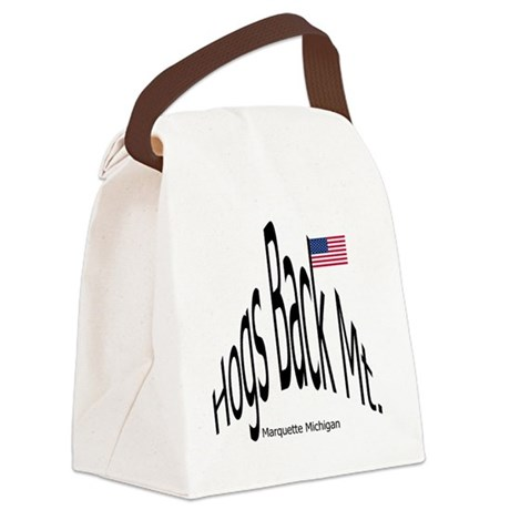 BlkHogsBackMtGif.gif Canvas Lunch Bag