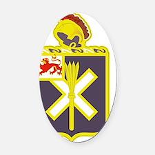 32nd Infantry Regiment Oval Car Magnet