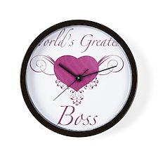 Heart_Boss Wall Clock