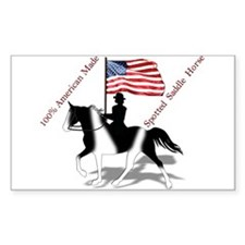 SSH with Flag Rectangle Decal