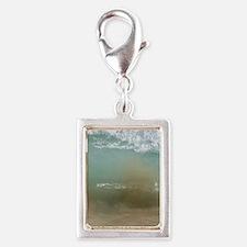Ingonish Wave - iPhone 4 sli Silver Portrait Charm