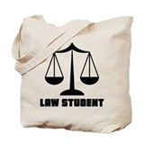 Law school Canvas Totes