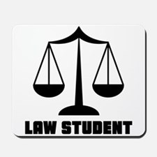 Law School Student Mousepad