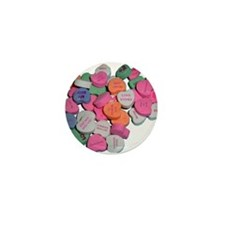 Sour Hearts Mini Button