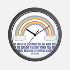 dbl-rainbow-LTT Wall Clock