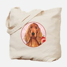 Irish Setter Rose Tote Bag