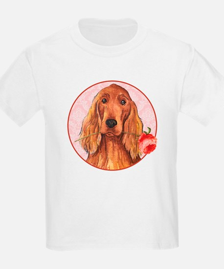 Irish Setter Rose T-Shirt