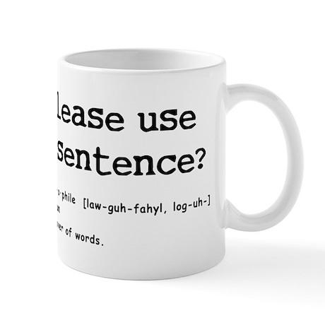 logophile Mug