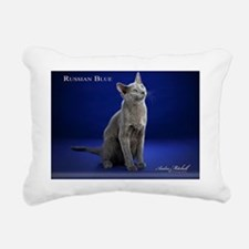 Russian Blue2 Rectangular Canvas Pillow