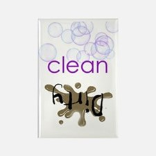 Dish Washer Magnet - Is it Clean  Rectangle Magnet